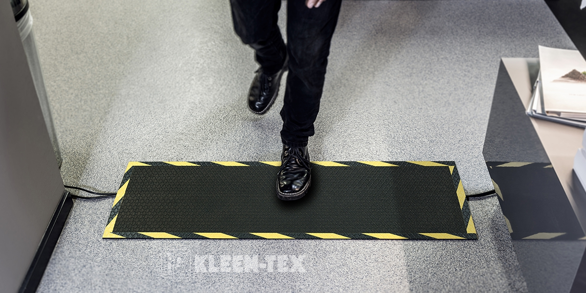 Kable-Mat Rubber Top in office
