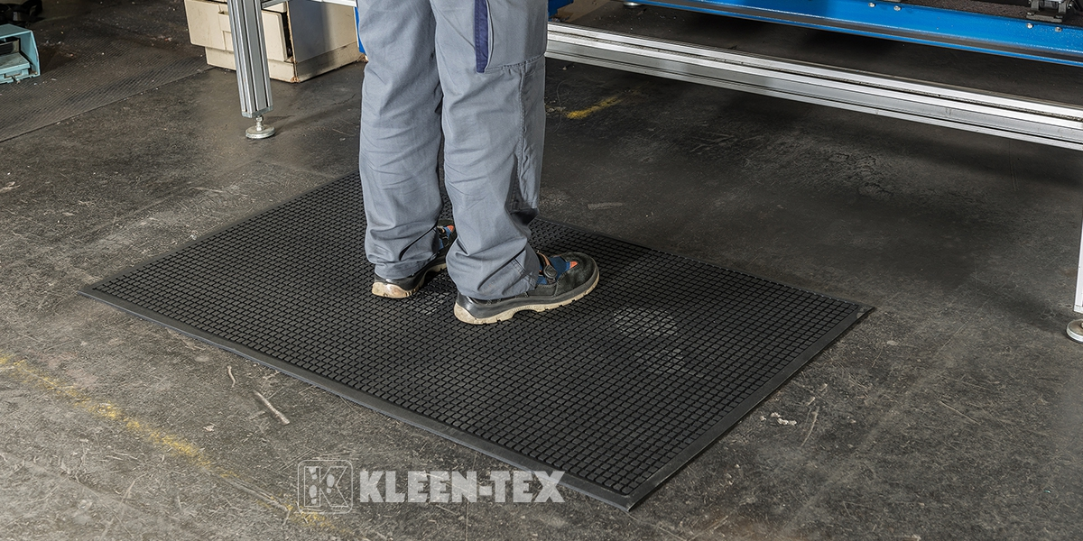 Kleen-Kushion in industrial workplace