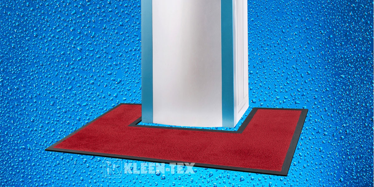 Water Kooler Mat- custom fit around water dispenser